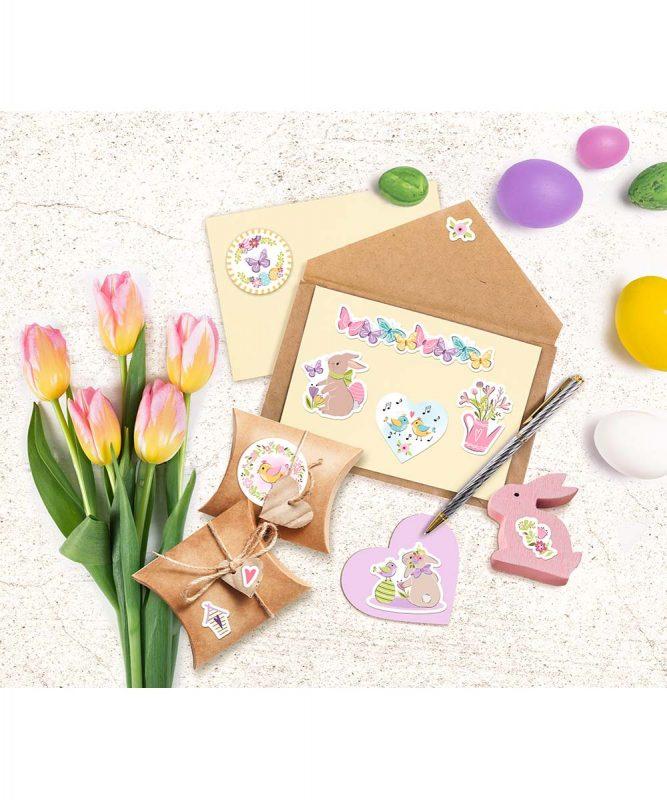59520004F Sticker Süßes Osterfest