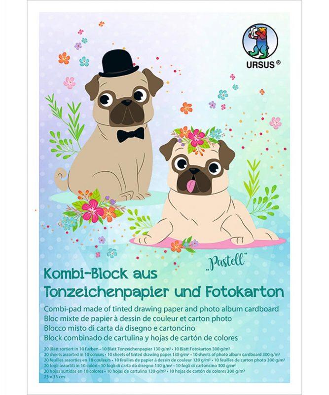 URSUS Kombiblock aus Tonzeichenpapier und Fotokarton Art.-Nr.: 7760099
