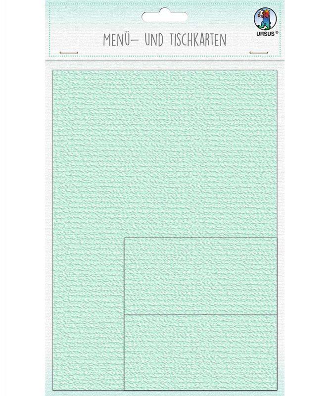 90270030 URSUS Menü und Tischkarten mint