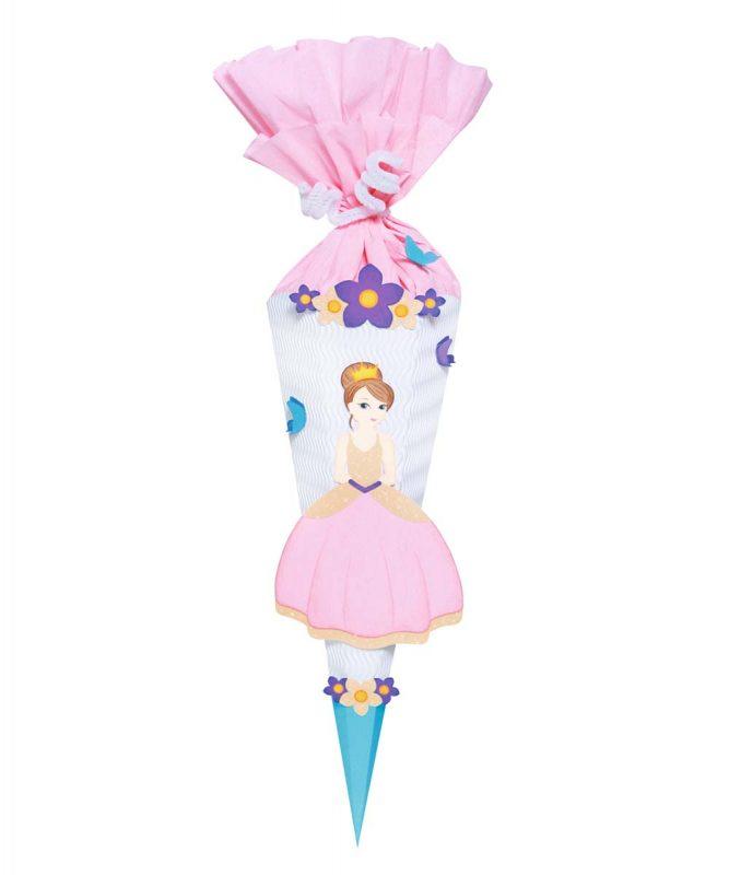 Schultüten Bastelset Mini Baby Prinzessin Art.-Nr. 9860001