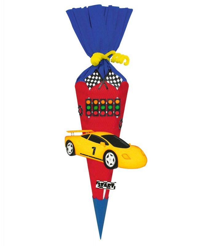 Schultüten Bastelset Mini Baby Rennwagen Art.-Nr. 9860010