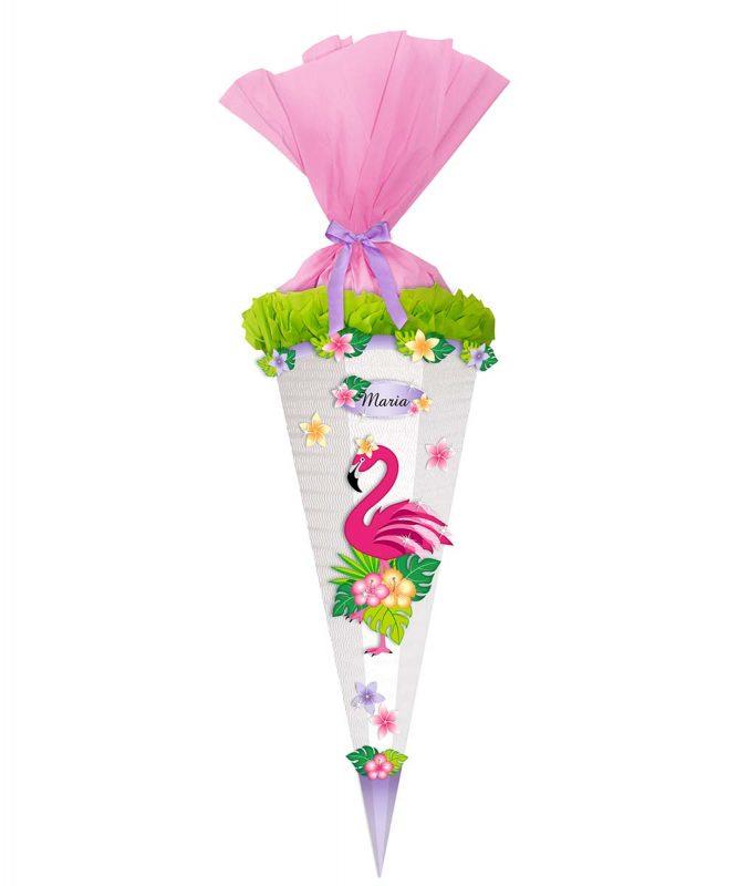 Schultüten Bastelset Easy Line Flamingo Art.-Nr. 9870005
