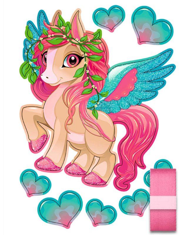 Schultüten Bastelset Easy Line Pegasus Art.-Nr. 9870007