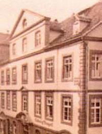 1820 Buntpapierfabrik Ludwig Bähr Gebäude
