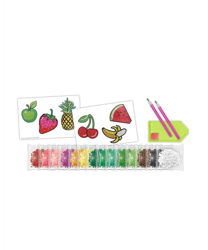 "URSUS® Diamond Painting Sticker ""FRUITS"" Motiv: 04"