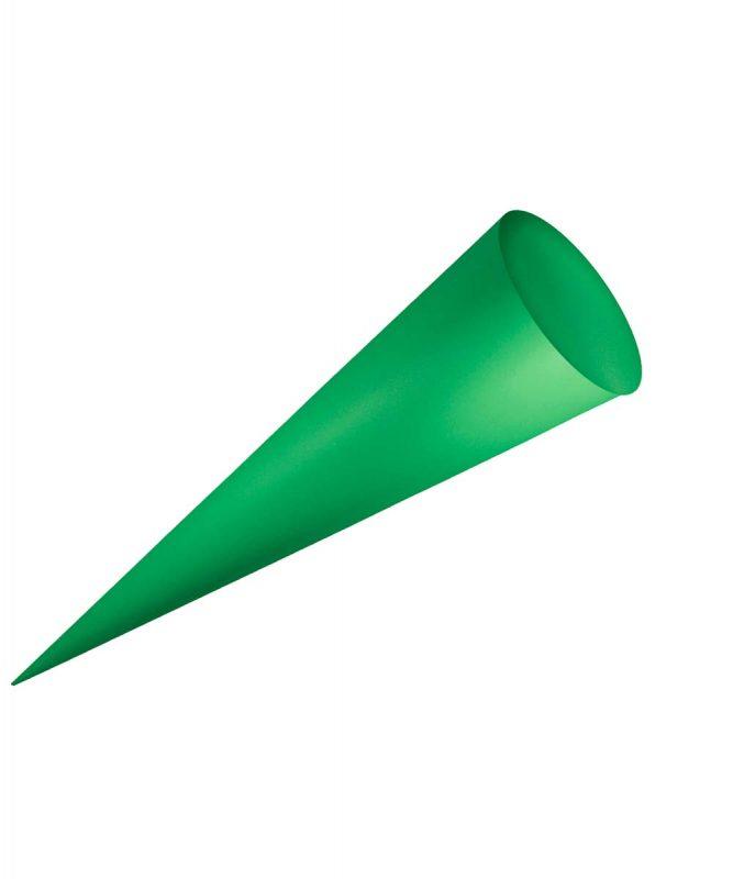 Bastel-Schultüten ohne Filzmanschette 9780058 grasgrün