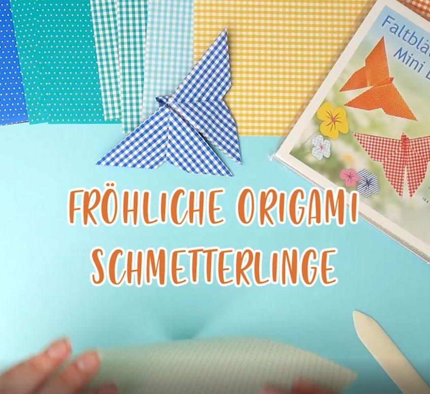 Origami Schmetterling Video Start Bild