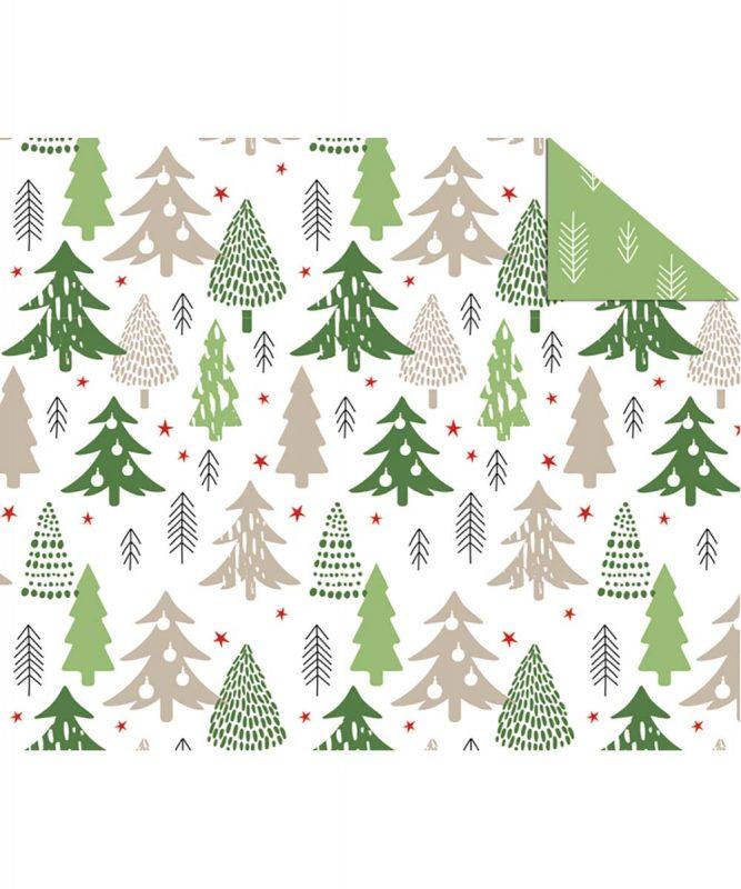 """Fotokarton """"Scandinavian Christmas"""" Weihnachtsbäume 300 g/m2 DIN A4 Art.-Nr.: 11274601"""
