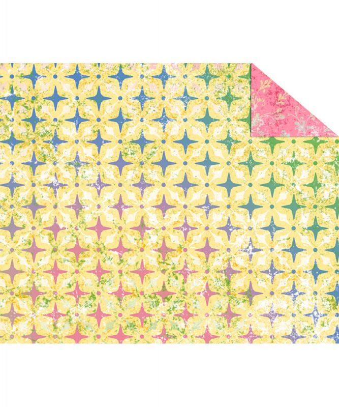 """Fotokarton """"PARADISO"""" GELB, 300g/m² DIN A4 Motiv 03 Artikel Nr.: 12264603"""