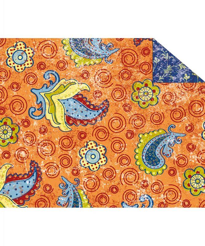 """Fotokarton """"PARADISO"""" ORANGE, 300g/m² DIN A4 Motiv 01 Artikel Nr.: 12274601"""