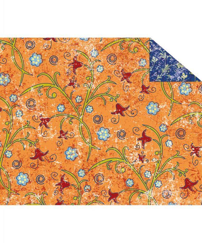 """Fotokarton """"PARADISO"""" ORANGE, 300g/m² DIN A4 Motiv 02 Artikel Nr.: 12274602"""