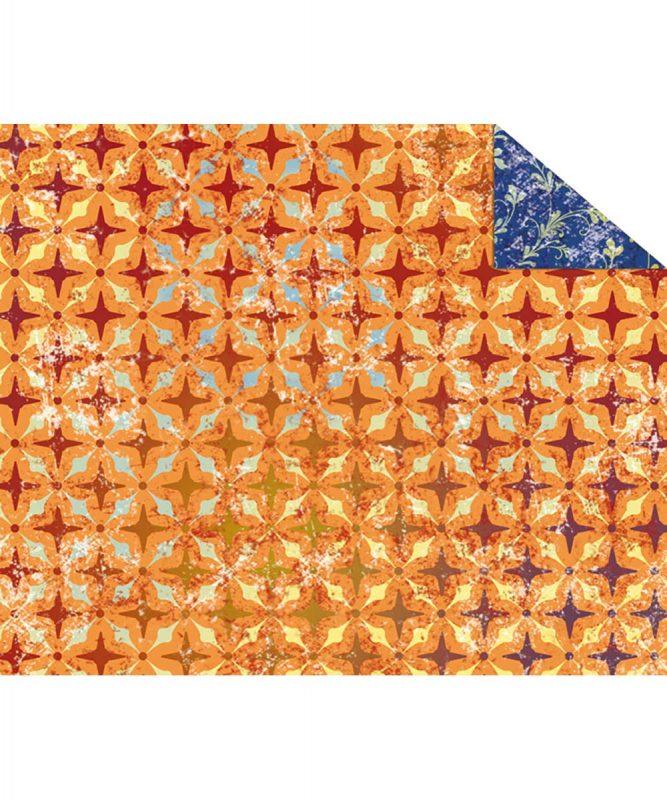 """Fotokarton """"PARADISO"""" ORANGE, 300g/m² DIN A4 Motiv 03 Artikel Nr.: 12274603"""