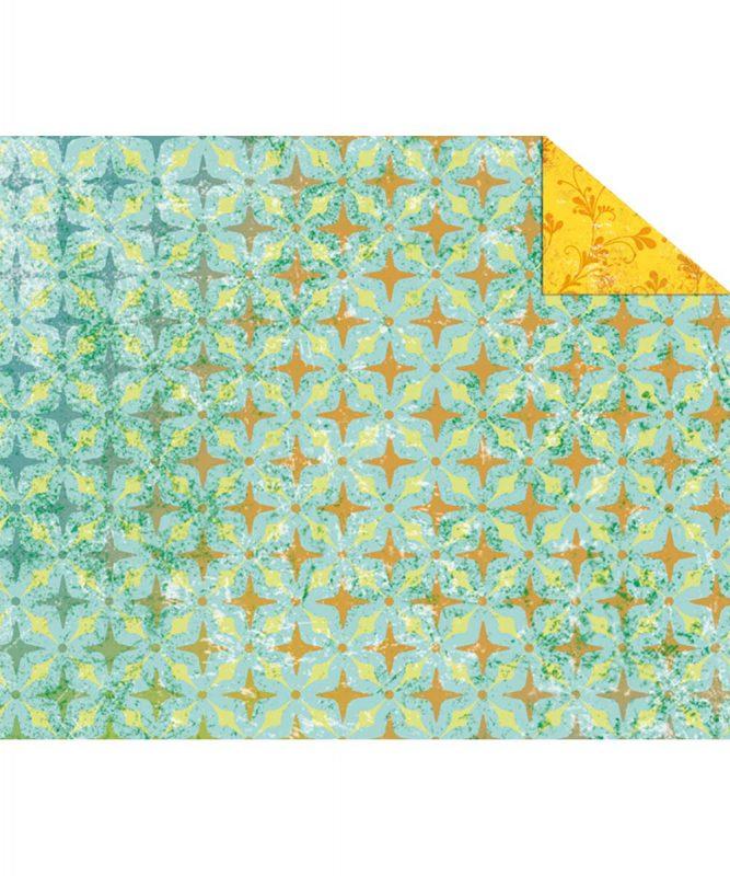 """Fotokarton """"PARADISO"""" TÜRKIS, 300g/m² DIN A4 Motiv 03 Artikel Nr.: 12284603"""