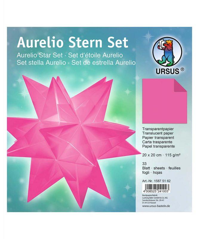 """Faltblätter Aurelio Stern """"uni"""" Set enthält 33 Blatt Transparentpapier 115 g/m² 20 mm x 20 mm Art.-Nr.: 15875162"""