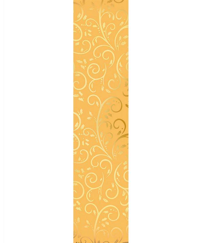 """Weihnachtssterne """"Stella"""" 33 Blatt """"Goldranken"""", gold/gold, 110 g/m² Art.-Nr.: 18880099"""
