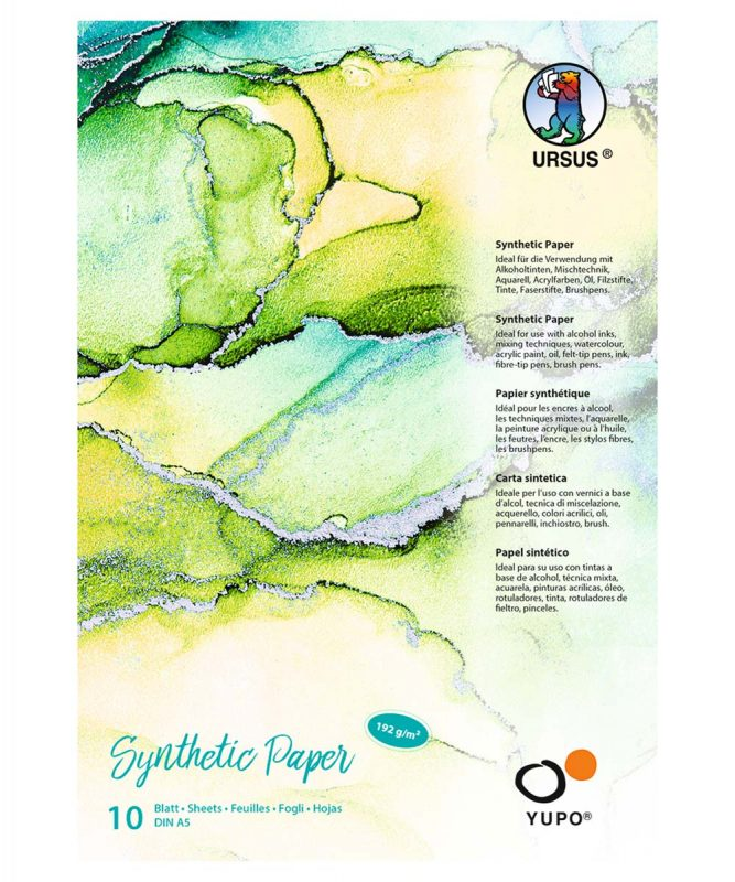 Synthetic Paper 192 g/m², DIN A5, 25 Blatt, Block Art.-Nr.: 16279200