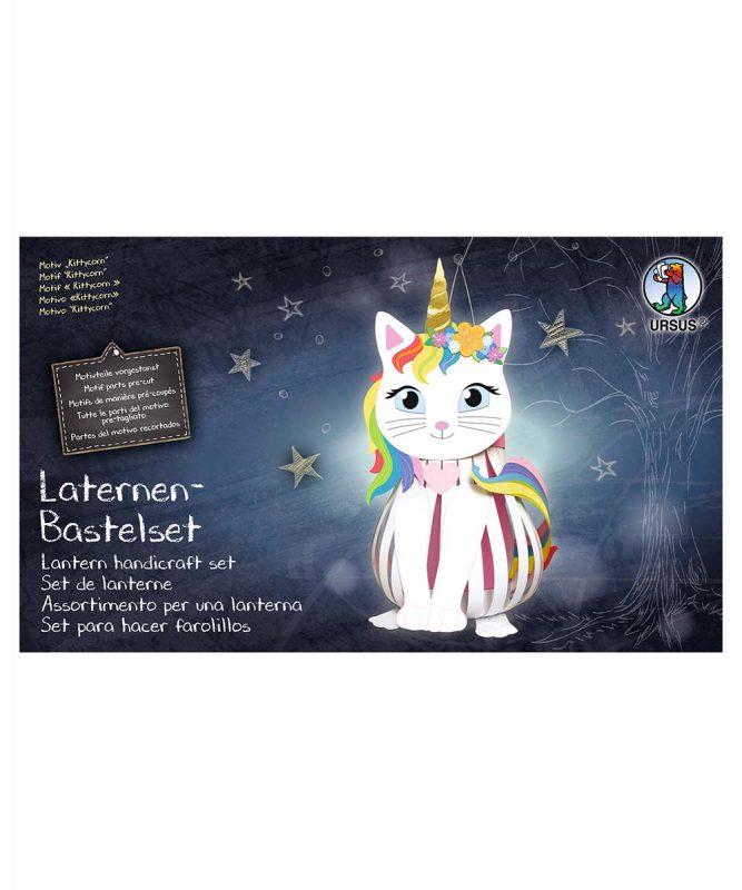 """Laternen-Bastelset 14 """"Kittycorn"""" Art.-Nr.: 18720014F"""