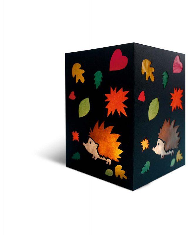 "Laternenpackung ""Blanko"" 300 g/m² Art.-Nr.: 18860090"