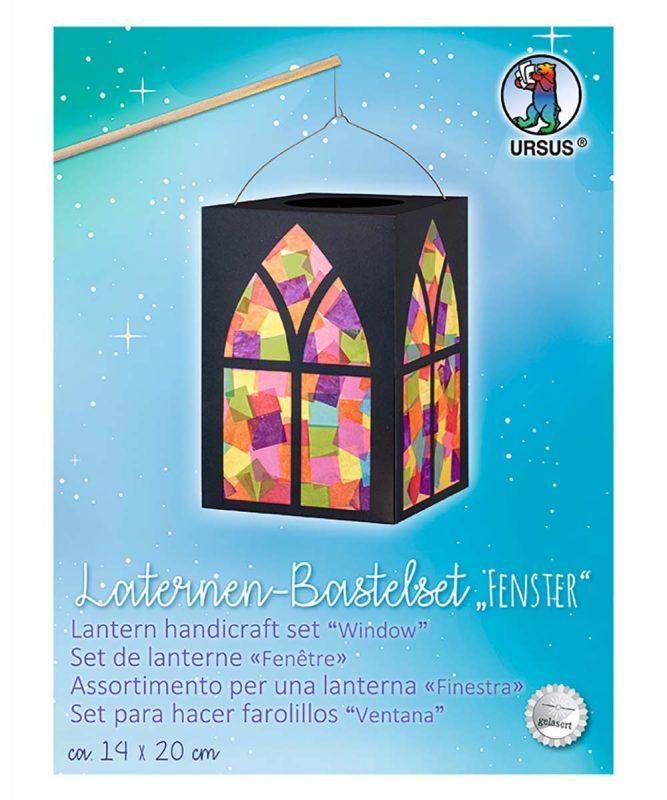 """Laternenpackung """"Fenster"""" 300 g/m² Art.-Nr.: 18880099"""