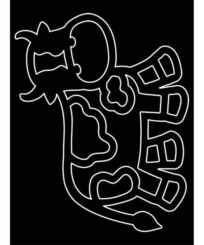 "Suncatcher ""Farm"" 8 Blatt Fotokarton, schwarz, 20 Blatt Transparentpapier sortiert in 11 Farben Art.-Nr.: 21200099"