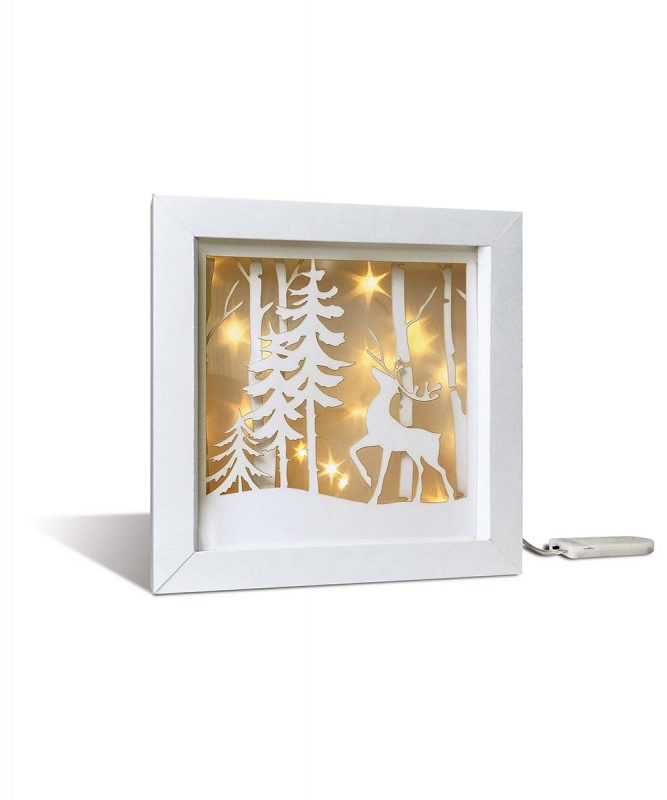 "Shadow box ""Winterwald"" Shadow box ""Winter forest"" Art.Nr. 21510001F"