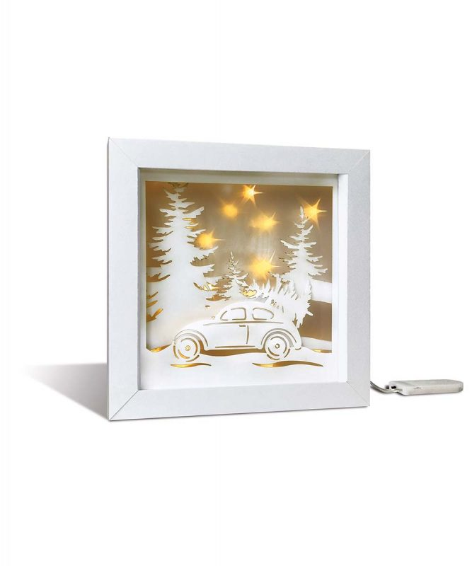 "Shadow box ""Weihnachtsbaum"" Shadow box ""Christmas tree"" Art.Nr.: 21510002F"