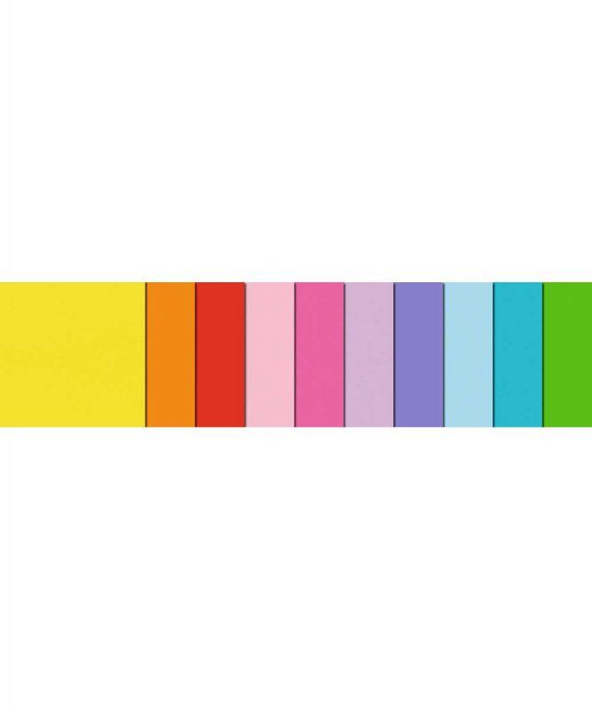 """Faltblätter """"Transparentpapier"""" 115 g/m² 15 x 15 cm, 100 Blatt sortiert in 10 verschiedenen Farben Art.-Nr.: 2525599"""