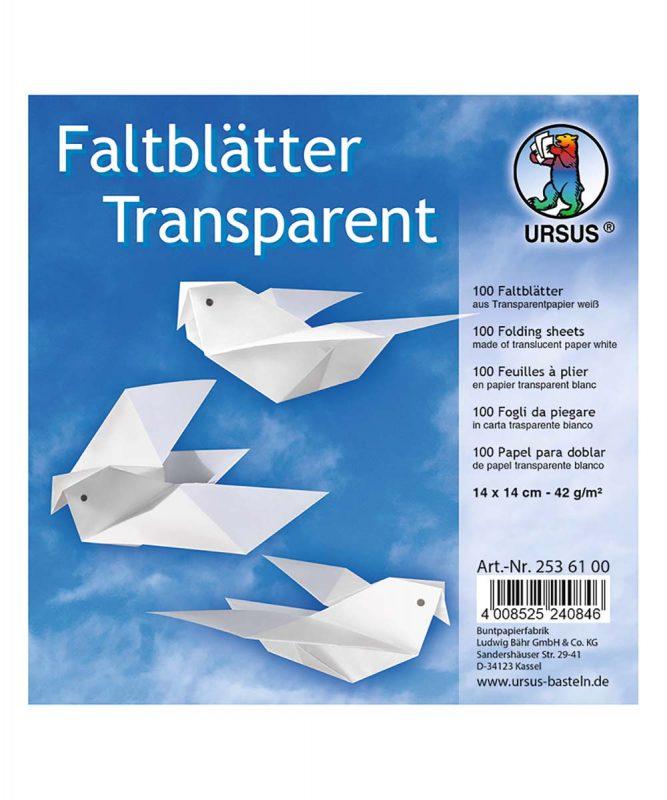 2536100 Faltblätter TP weiss