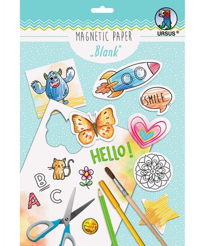 "Magnetic Paper ""Blanko"" DIN A4, 2 Blatt Art.-Nr.: 43034600"