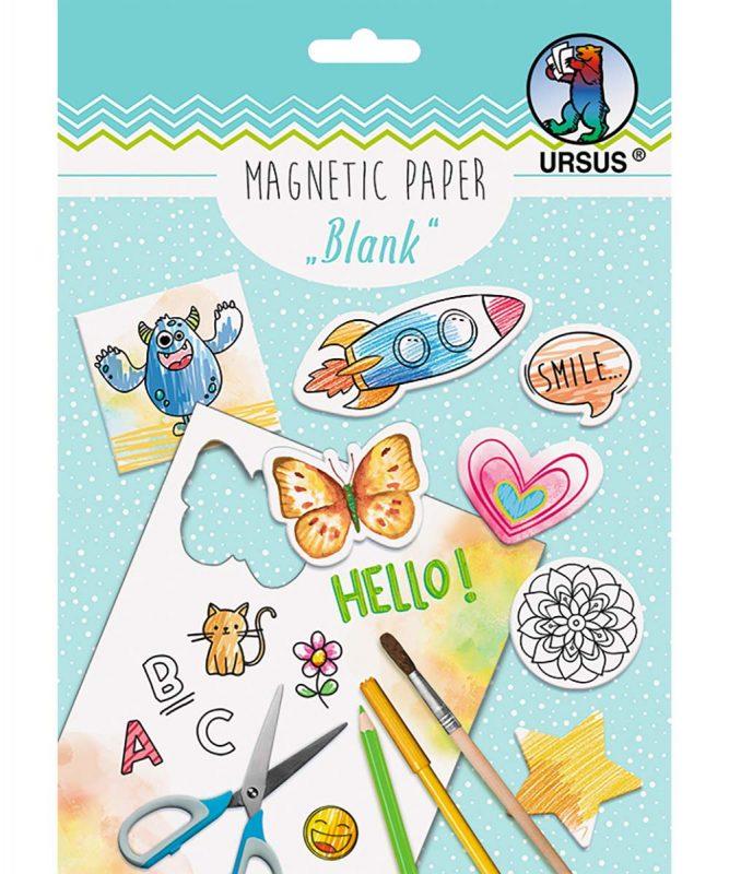 "Magnetic Paper ""Blanko"" DIN A5, 2 Blatt Art.-Nr.: 43039200"