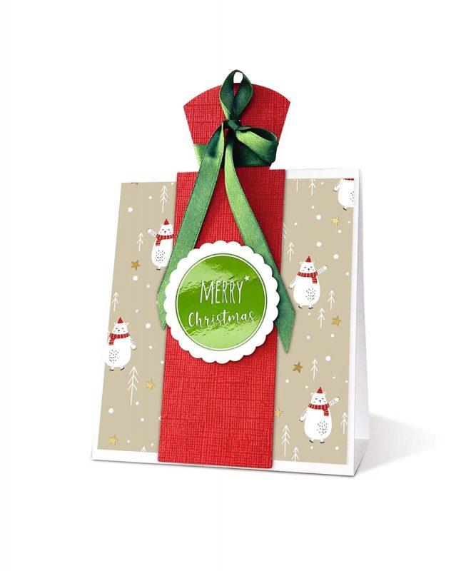 "Designkarton ""Christmas"" 200 g/m² DIN A4, 5 Blatt sortiert in 5 Motiven, 20 Sticker in verschiedenen Designs Art.-Nr.: 62454605F"