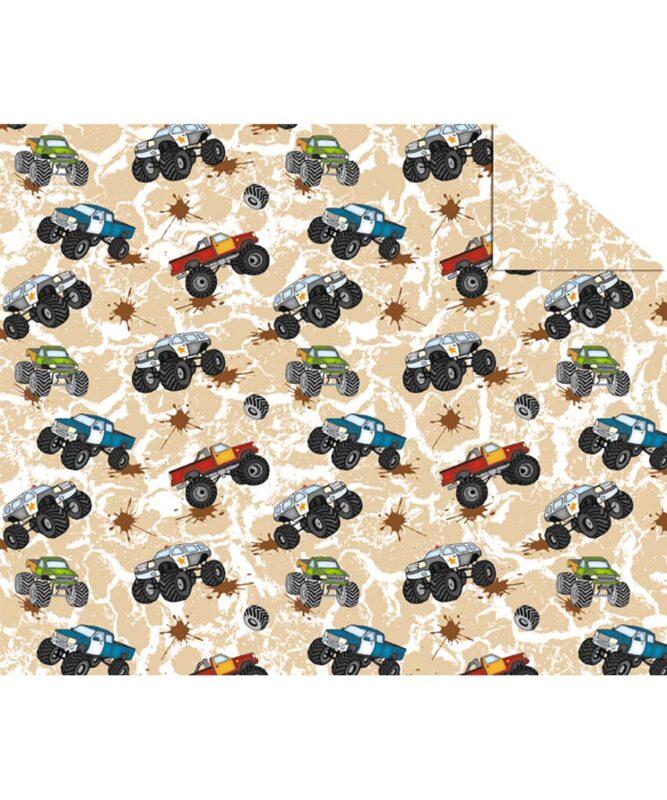 "Fotokarton ""BUNTE FAHRZEUGWELT"" 300g/m² DIN A4 Motiv 01"