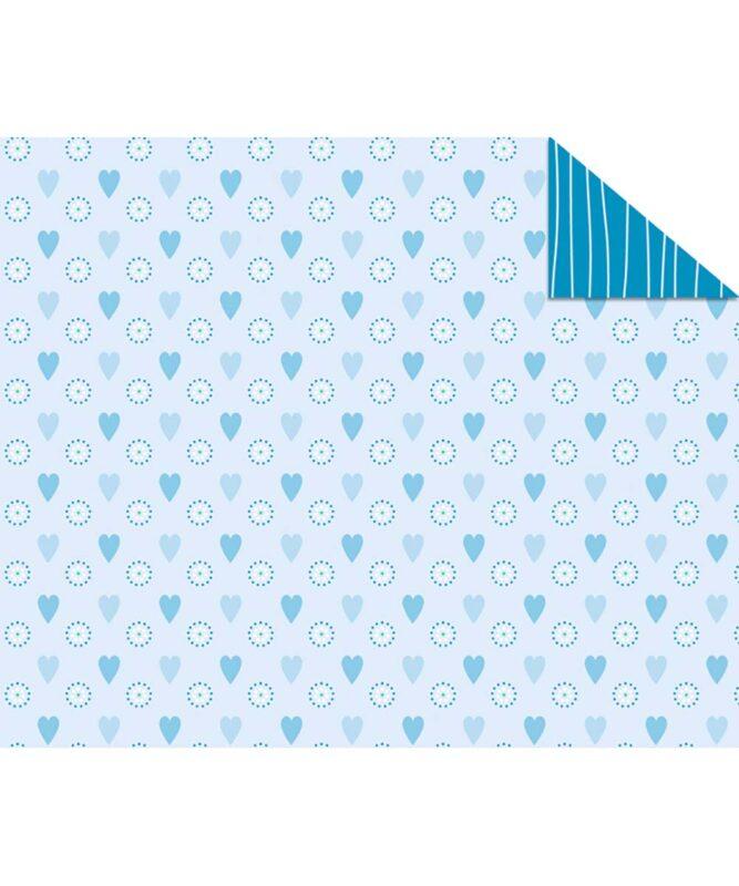 """Fotokarton """"JOLINE"""" BLAU, 300g/m² DIN A4 Motiv 02"""