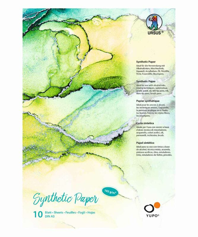 Synthetic Paper 192 g/m², DIN A5, 25 Blatt, Block Art.-Nr.: 16274000