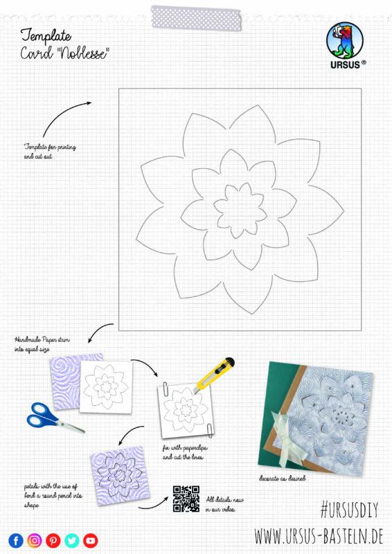 Handmade Paper Noblesse Karte en Site 2