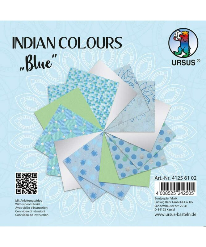 URSUS® Indian Colours Blue