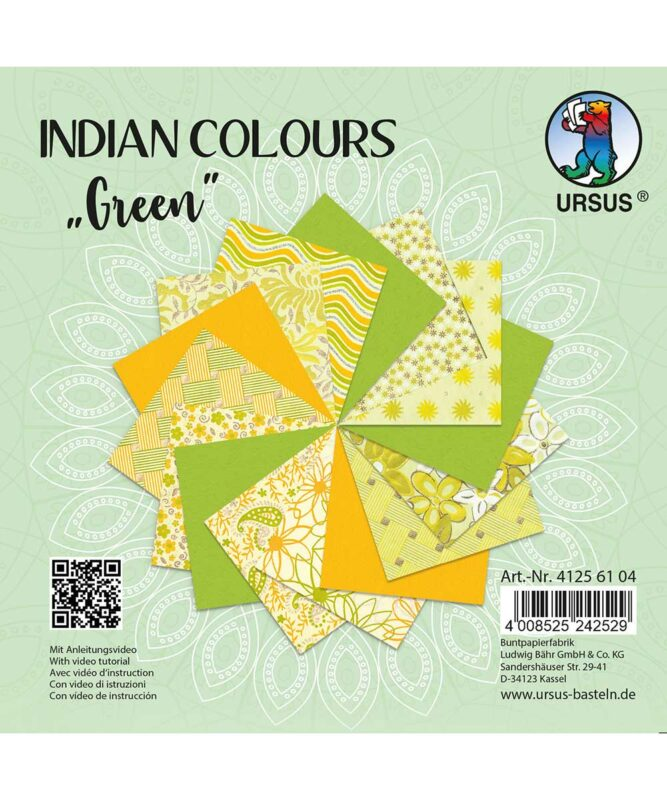 URSUS® Indian Colours Green