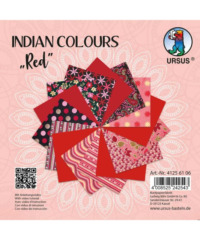 URSUS® Indian Colours Red