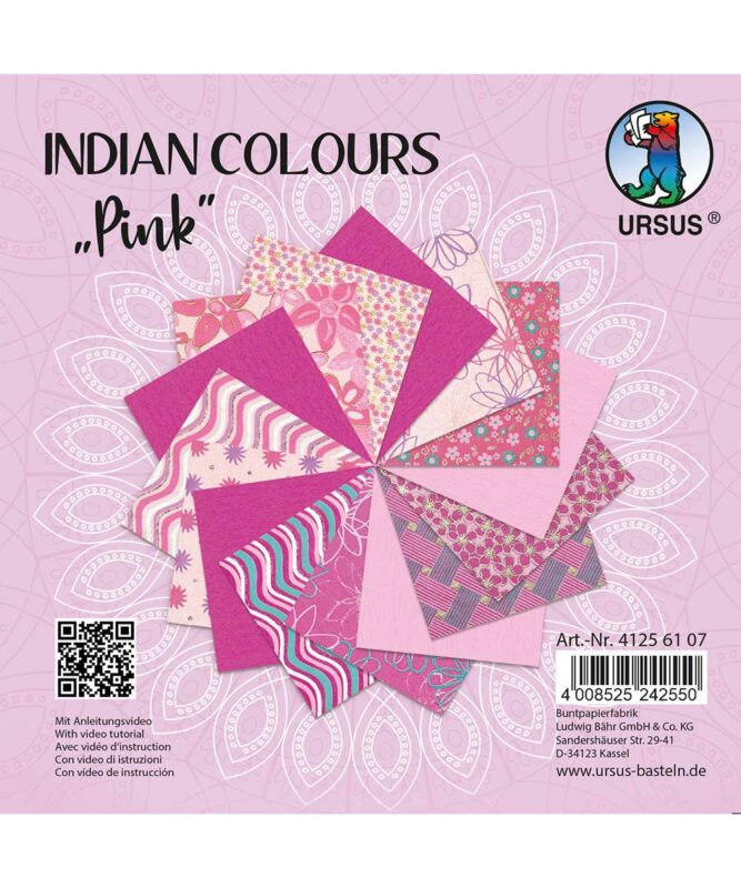 URSUS® Indian Colours Pink
