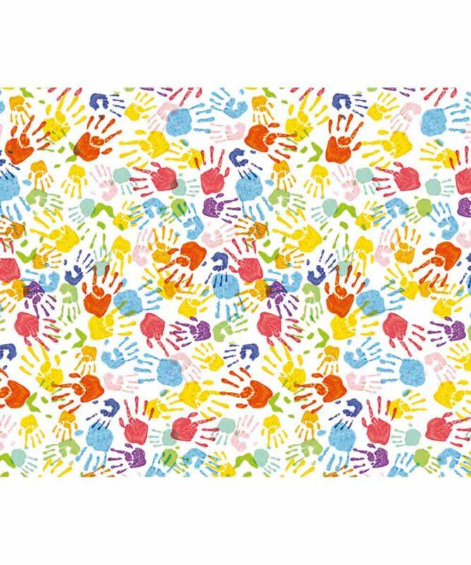 Bunte Kinderhände Motiv-Fotokarton 300 g/m² 49,5 x 68 cm Art.-Nr.: 127222135