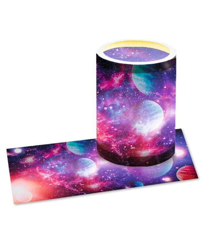"Laternenzuschnitte 115 g/m² ""Galaxie"", 25 Blatt, 20 x 50 cm Art.-Nr.: 18150000"