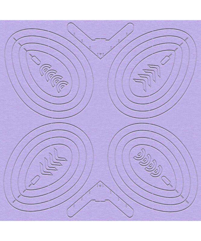 3D Oster-Dekoration 300 g/m² Art.-Nr.: 21160099