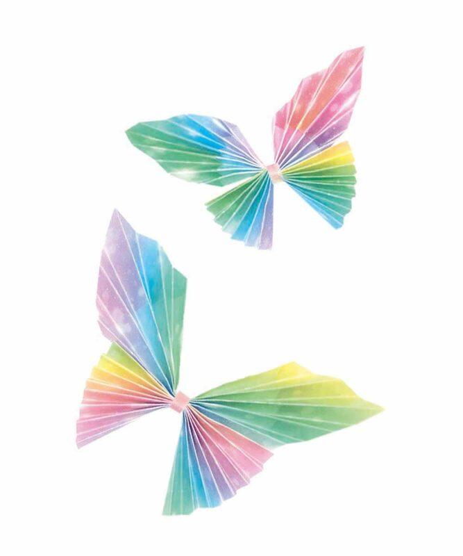 """Transparentpapier-Faltblätter """"Feenstaub"""" 115 g/m², 15 x 15 cm, 50 Blatt Artikel Nr.: 38065501"""