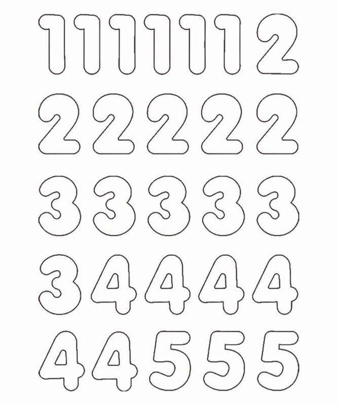 "Blanko Magnete ""Zahlen & Symbole"", 90 Stück Art.-Nr.: 43130099"