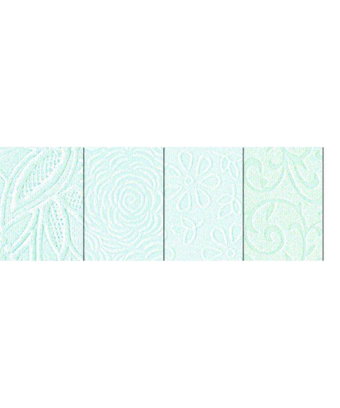 Noblesse Ice Handmade Paper 200 g/m², 23 x 33 cm, 8 Blatt sortiert in 4 Motiven Art.-Nr.: 61600003