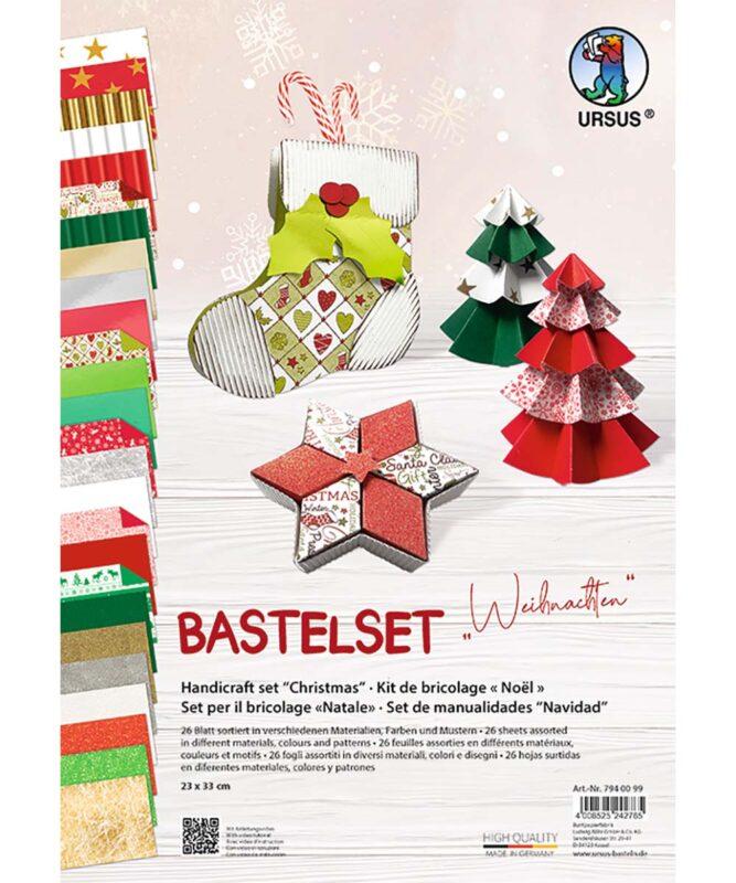 """Bastelset """"Weihnachten"""", 23 x 33 cm Artikel Nr.: 7940099"""