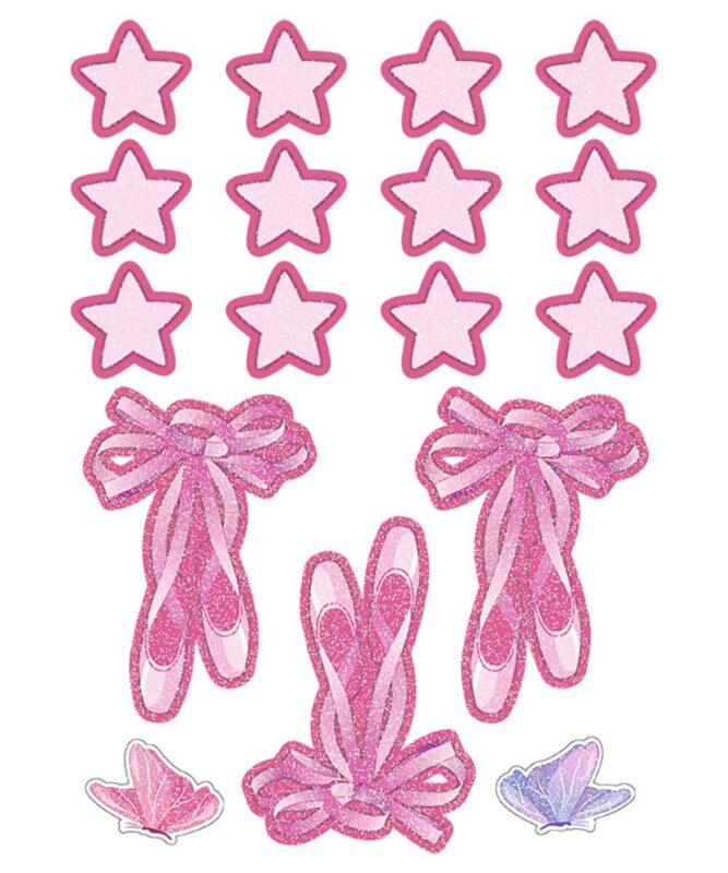 Fantasy Ballerina Dekorations-Sets 350 g/m² DIN A4 Art.-Nr.: 9880015F