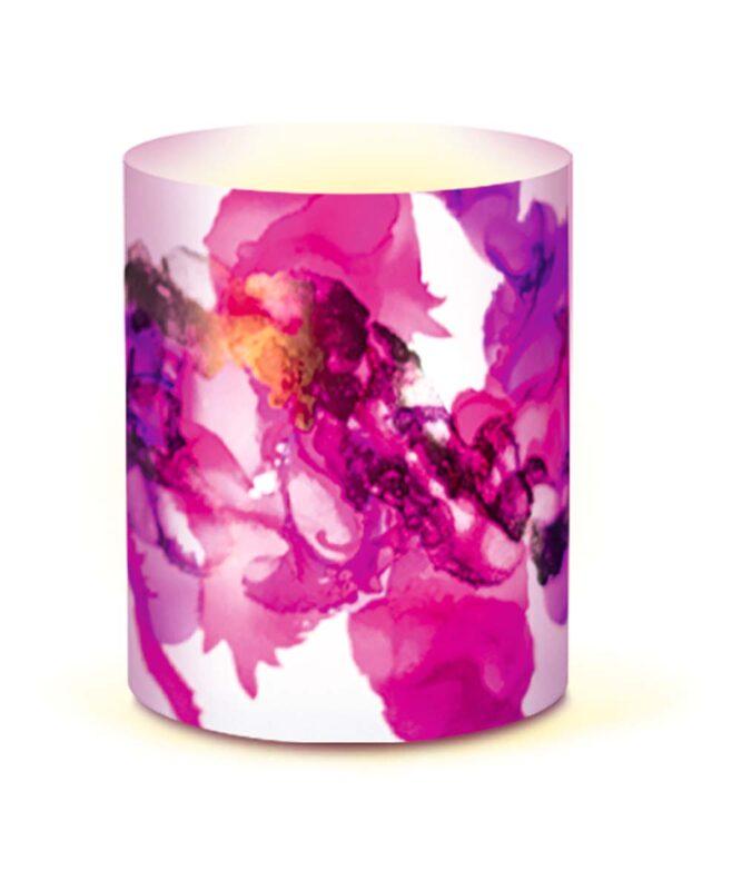 """Mini-Tischlichter """"Outdoor"""" 153 g/m2, 153 g/m2, 10 x 27 cm, 5 Blatt, transparent Artikel Nr.: 18560000"""