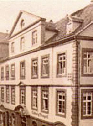 Kasseler Marktgasse Nr. 17 Buntpapierfabrik Ludwig Bähr Geschichte