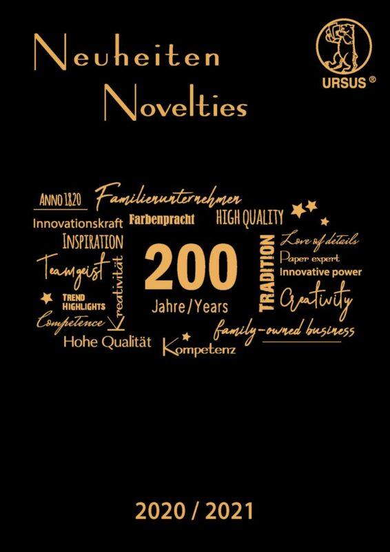 Katalog Deckblatt Neuheiten 2020-2021